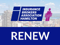 Renew Membership, IBAH, Insurance Hamilton